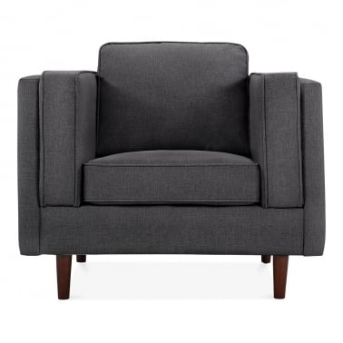 Edgar Armchair - Dark Grey