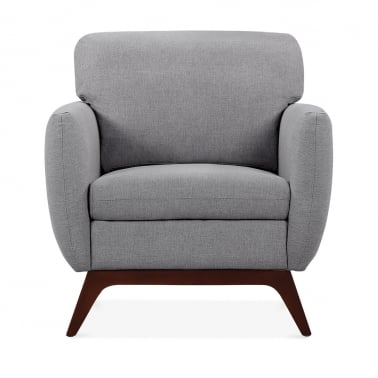 Jensen Armchair - Smokey Grey