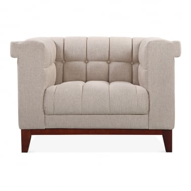 Jewel Armchair - Cream