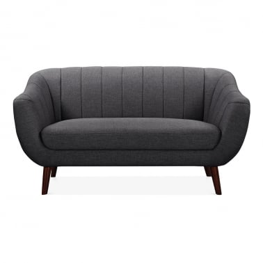 Melvin 2 Seater Sofa - Dark Grey