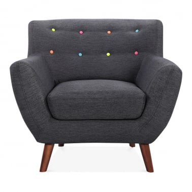 Trent Armchair - Dark Grey