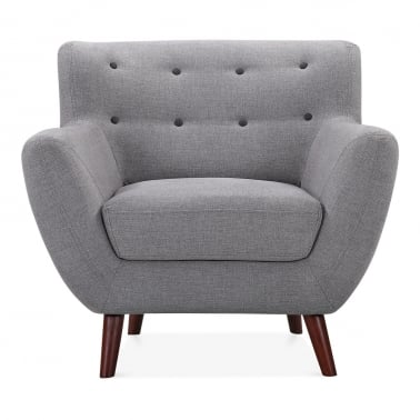 Trent Armchair - Smokey Grey