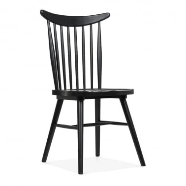Windsor Curve Chair - Black