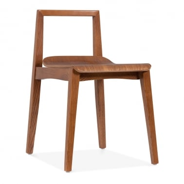 Hip Dining Chair - Brown