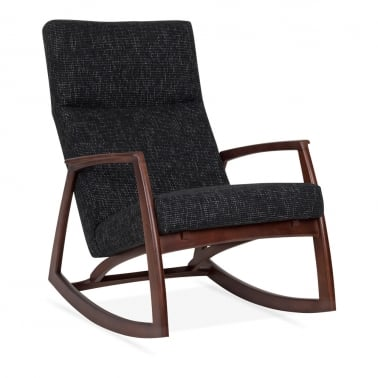 Stanley Rocking Chair - Dark Grey
