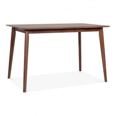 Milton Wooden Dining Table - Walnut