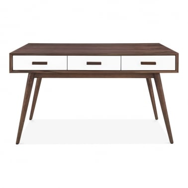 Molander Wooden Desk - Walnut