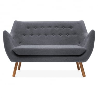 Poet 2 Seater Sofa - Grey