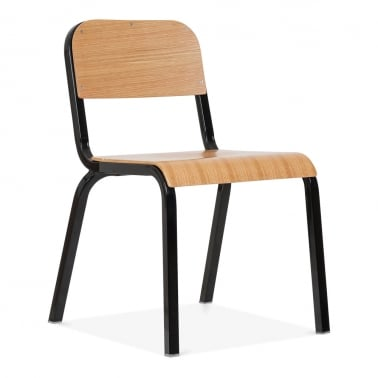 Elementary Metal Chair - Black