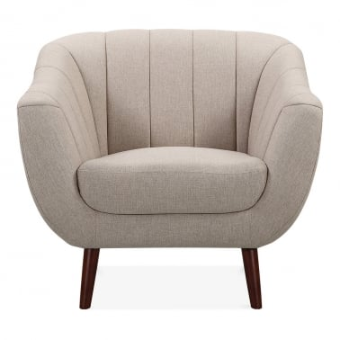 Melvin Armchair - Cream