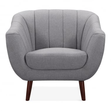 Melvin Armchair - Smokey Grey