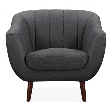 Melvin Armchair - Dark Grey