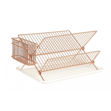 Kitchen Dish Rack - Copper