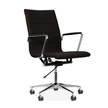 Ellington Office Chair in Cashmere - Black