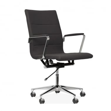 Ellington Office Chair in Cashmere - Dark Grey