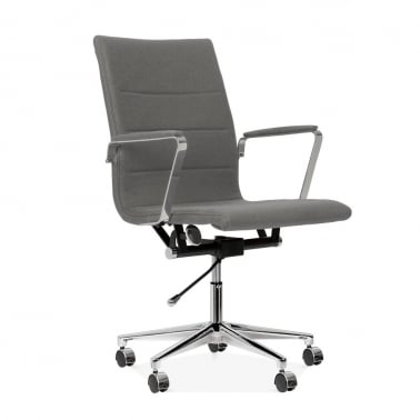 Ellington Office Chair in Cashmere - Grey