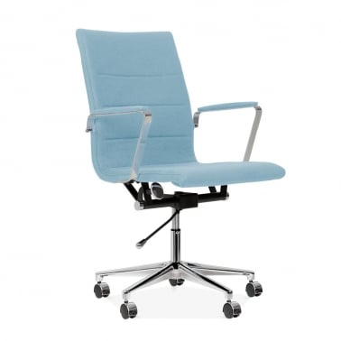Ellington Office Chair in Cashmere - Pastel Blue