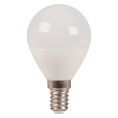 Ceramic LED Light Bulb - Warm White 3W E14
