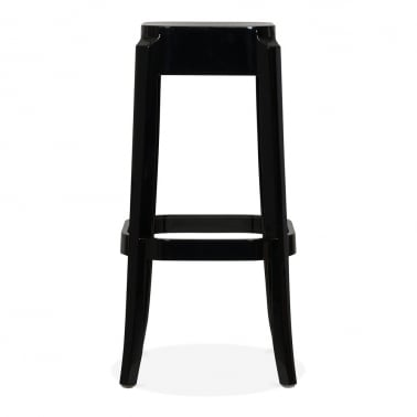 Ghost High Stool - Black 75cm