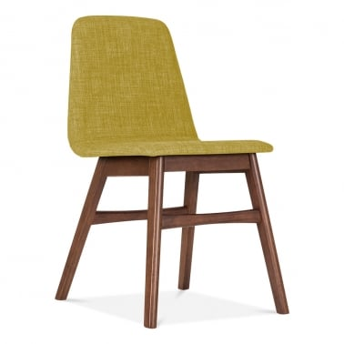 Amara Upholstered Dining Chair - Olive