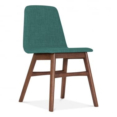 Amara Upholstered Dining Chair - Teal