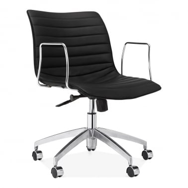 Ortega Low Back Office Chair - Black