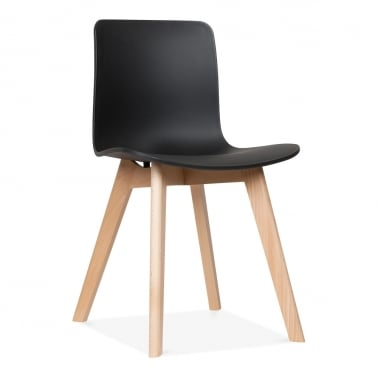 Andersen Dining Chair with Beech Legs - Black