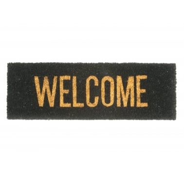 Welcome Doormat - Black