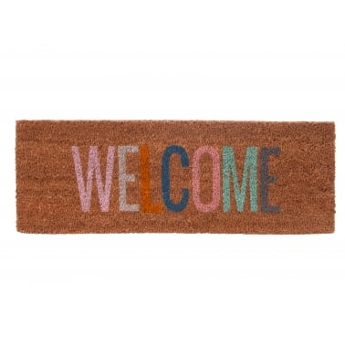 Welcome Doormat - Multi-coloured