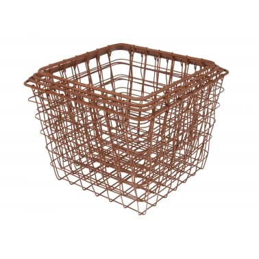 Linea Square Wire Baskets Set of 4 - Copper