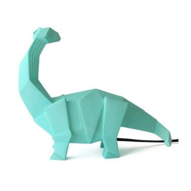 Geometric LED Brachiosaurus Lamp - Peppermint