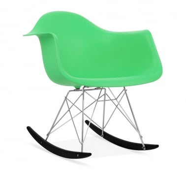 Bright Green RAR Rocker Chair