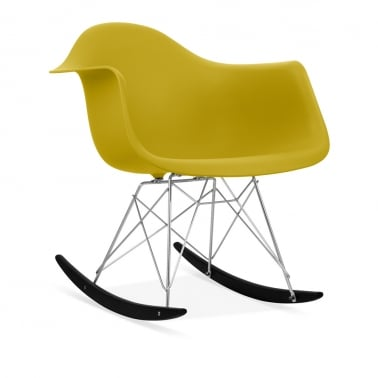 Olive RAR Rocker Chair