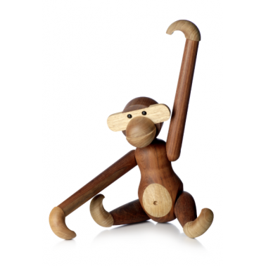 Wooden Monkey - Brown