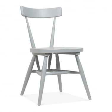 Trafik Stackable Dining Chair - Grey