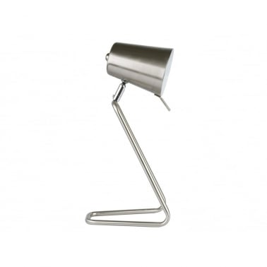 Z Style Metal Table Lamp - Chrome