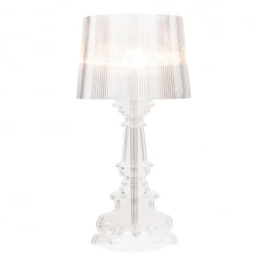 Bourgie Style Lamp - Transparent