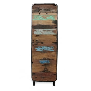 Titanic Retro Tall Cabinet with Shelves