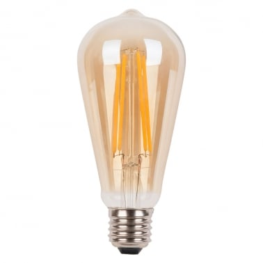 Edison Vintage ST64 LED 4W Dimmable Light Bulb - E27