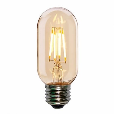 LED T45 4W Smoked Mini Tube Filament Lightbulb - E27