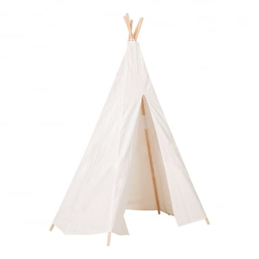 Kids Teepee Tent - White