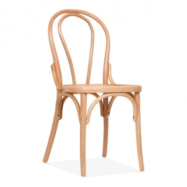 Corbie Wooden Dining Chair with Square Seat
