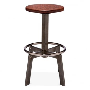 Derby Metal Bar Stool 75cm