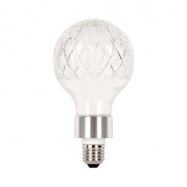 Beam Crystal Style Light Bulb with G9 E27 Adapter - Chrome