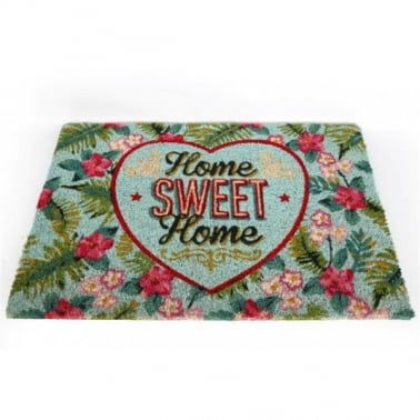 Home Sweet Home Door Mat - Multi-coloured