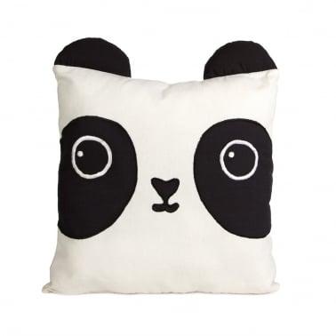 Kawaii Friends Aiko Panda Cotton Cushion, Black