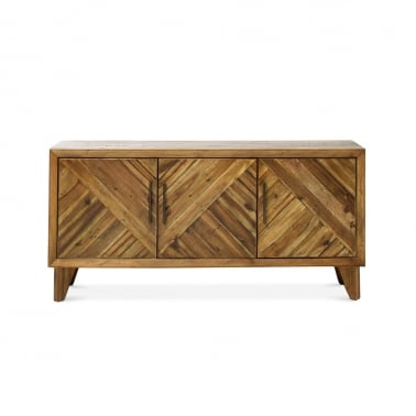 Parq Large Sideboard, Reclaimed Pine, Light Brown