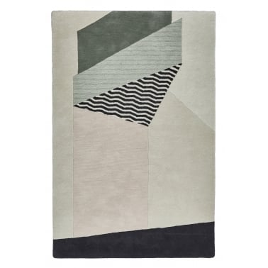 Michelle Collins 100% Wool Hand Tufted Rug, Decend