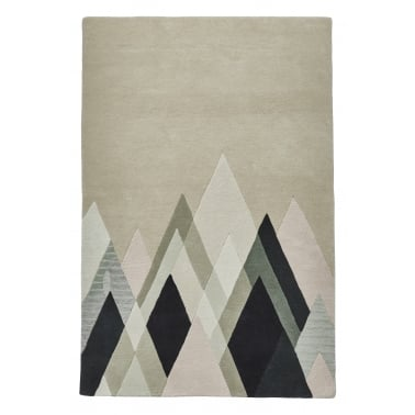 Michelle Collins 100% Wool Hand Tufted Rug, Stand Tall