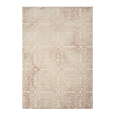 Fresco Floor Rug, 100% Pure Wool, Beige